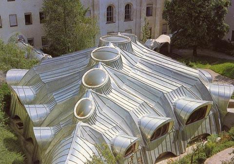 Blechdach aus Titanzink bei den Schulschwestern in Graz
