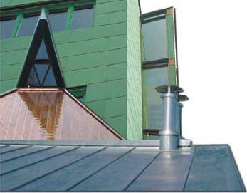 Blechdächer und Blechfassaden sind populär wie nie