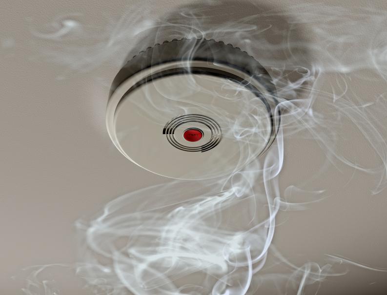 Rauchmelder sind auch in Privathäusern Pflicht