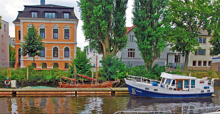 Bootslagerung auf dem eigenen Grundtsück