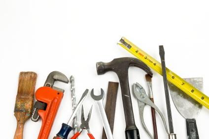 Werkzeug für den Hausbau