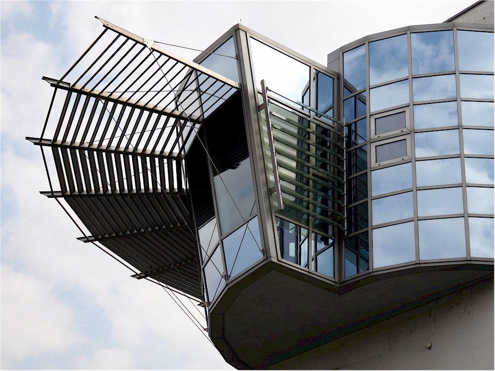 Fensterfassade aus Aluminium