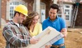 Handwerker am Bau