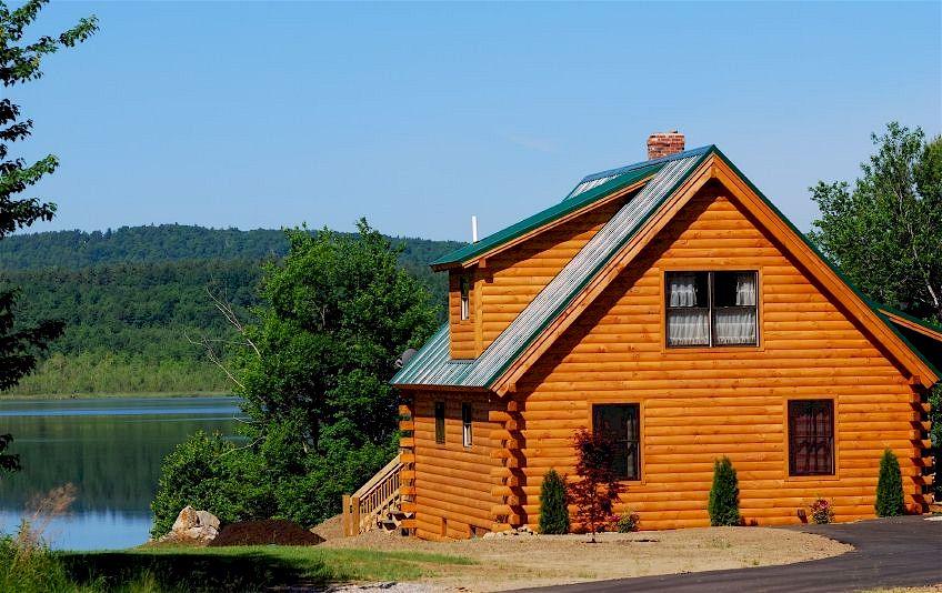 Haus in Holzbauweise