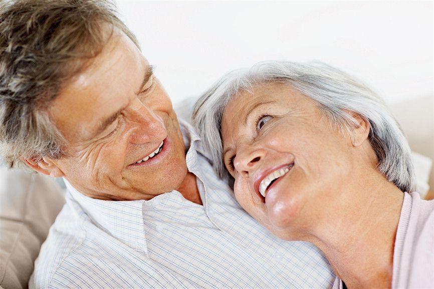 Ehepaar im Rentenalter