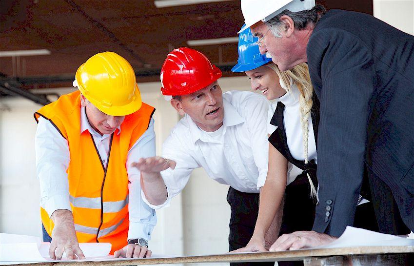 Umsatzplus im Handwerk Bau
