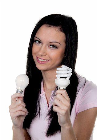 Energie-Sparlampen