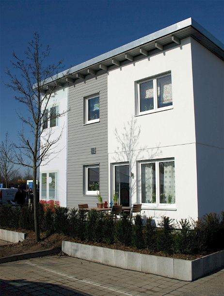 Fassade Boklok-Haus von IKEA