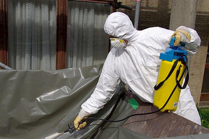 Asbest-Verseuchung