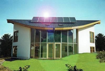 austria solar haus. Black Bedroom Furniture Sets. Home Design Ideas