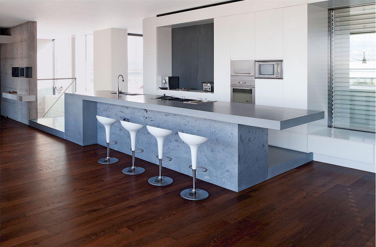 Wohndesign betonwerkstein zur raumgestaltung mein bau for Wohndesign und