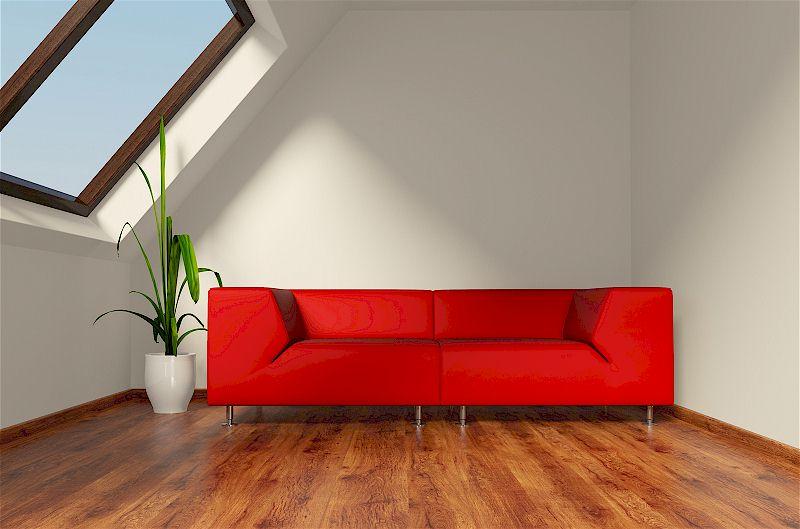ein ausgebauter dachboden f r mehr wohnraum mein bau. Black Bedroom Furniture Sets. Home Design Ideas