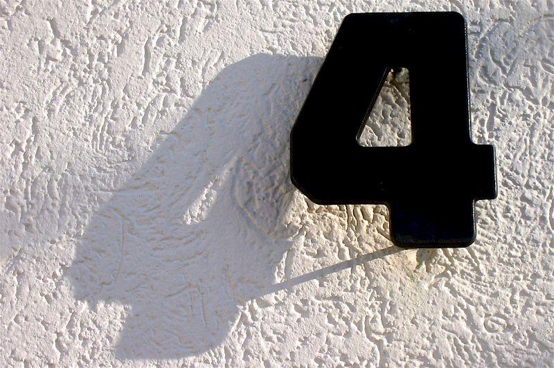 Nummer für das Haus