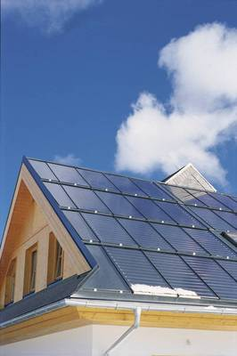 Solar Kollektoren Dach