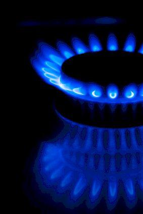 Preise für Gas