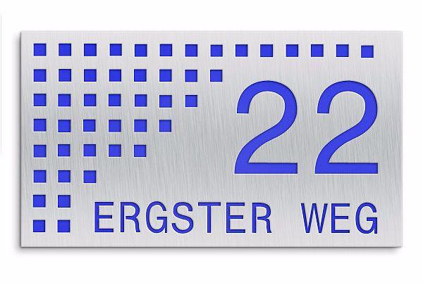 Spezialshops bieten Hausnummern für jeden Geschmack (Foto: Proverdi GmbH)