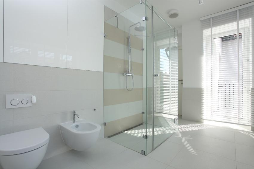 Die bodengleiche Dusche liegt im Trend