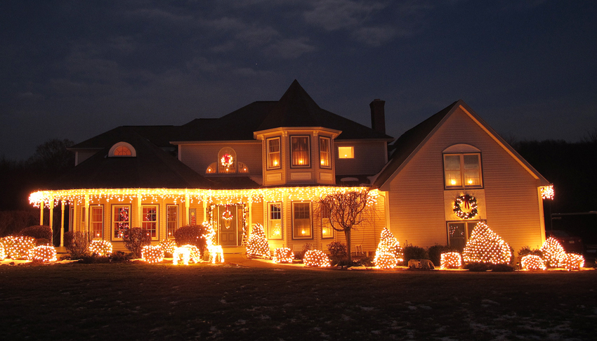 Neue Trends bei der Weihnachtsbeleuchtung