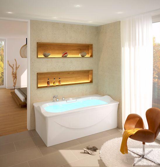 luxuri se badewannen mit allem komfort mein bau. Black Bedroom Furniture Sets. Home Design Ideas