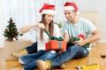 Weihnachtsgeschenke zum Einzug