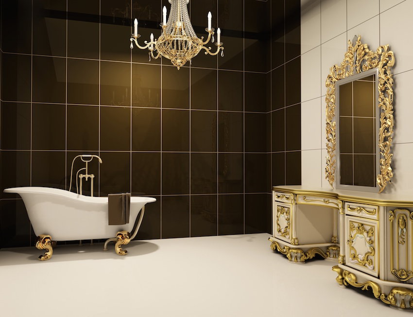 badezimmer im retro-style | mein bau, Badezimmer gestaltung