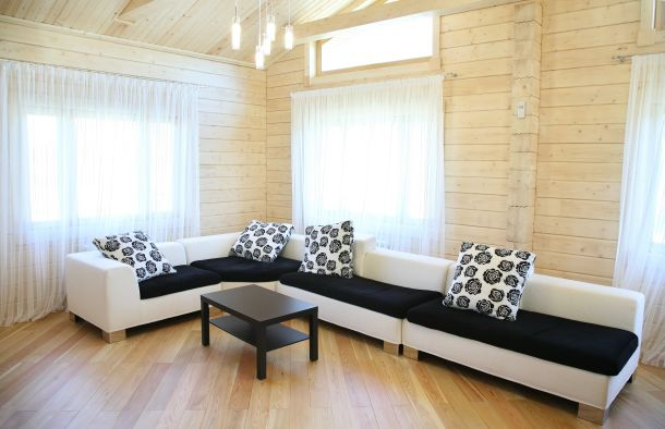 Ein Gartenhaus eignet sich sehr gut als Gästezimmer.