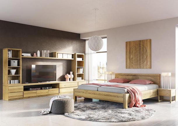welche wandfarbe passt zu eiche rustikal wohnzimmer wohn design. Black Bedroom Furniture Sets. Home Design Ideas