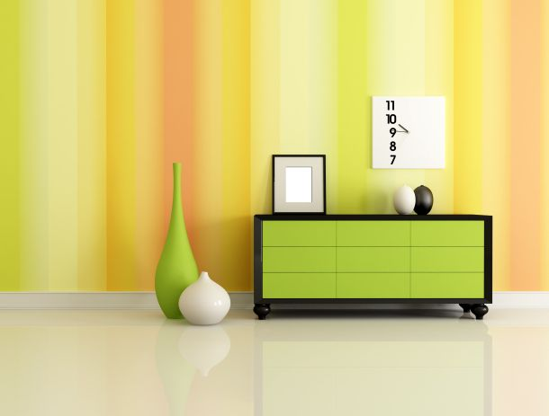 orange, orangerot, gelb und beige sind die neuen Trendtöne (Fotoquelle:  archidea / clipdealer.de)