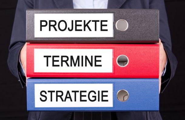 Verschiedene Aufgabenbereiche können durch unterschiedliche Farben oder Ornder markiert werden. (Fotoquelle:  convisum / clipdealer.de)