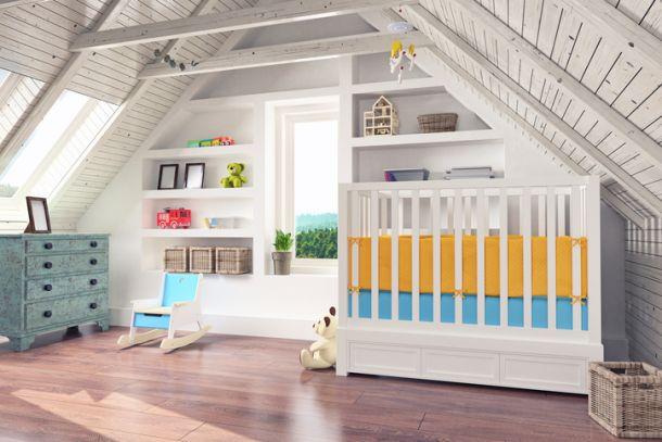Ein Kinderzimmer sollte idealerweise eine Kombination aus Funktionalität, Qualität und Design sein. (Bild: ©istock.com/imaginima)