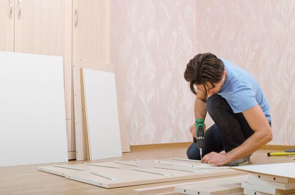 Möbel richtig aufbauen beginnt mit der Planung. (Fotoquelle: fotoman / clipdealer.de)