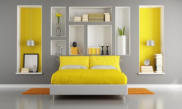 Mit Ideen und etwas Fantasie ist es nicht schwer ein Schlafzimmer zu verschönern. (Bildquelle: archidea / clipdealer.de)