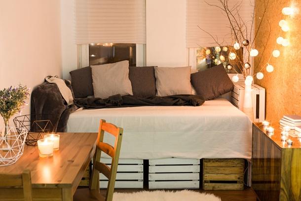 Schlafzimmer romantisch kerzen  wunderbar schlafzimmer kerzen in bezug auf schlafzimmer ...