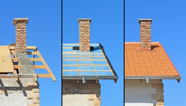 Je größer der Aufwand, desto länger dauert die Sanierung. (Bildquelle: kanvag, clipdealer.de)