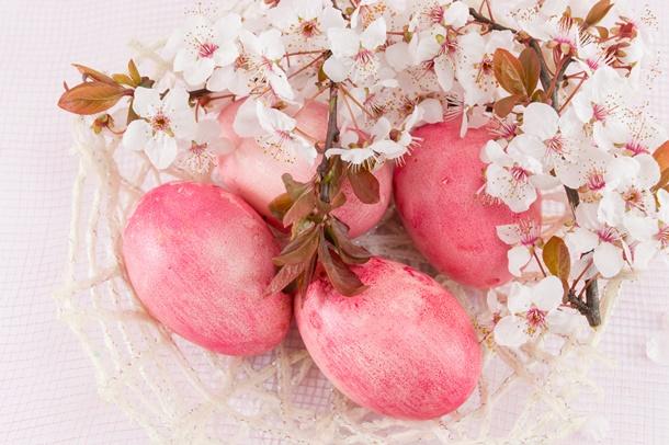 Kirschblüten sind eine tolle Osterdeko! (Bildquelle: creativefamily, clipdealer.de)
