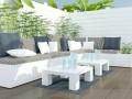 Die Terrasse wird mehr und mehr zum zweiten Wohnzimmer. (Fotoquelle:  kosheen / clipdealer.de)