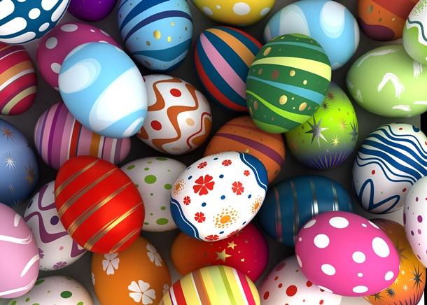 Ostern ist eine fröhliche Zeit, in der wir gerne kreativ sein dürfen. (Bildquelle: selensergen, clipdealer.de)