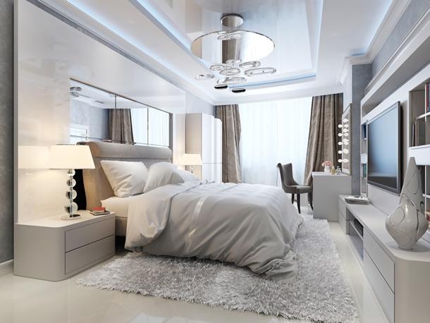 Grau in der Wohnung wird immer beliebter! (Bildquelle: kuprin28, clipdealer.de)
