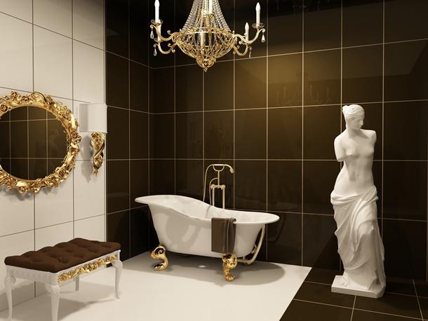 Falls Sie sich eine Wellness-Oase wünschen, gestalten SIe Ihr eigenes Luxusbad! (Bildquelle: victorias, clipdealer.de)
