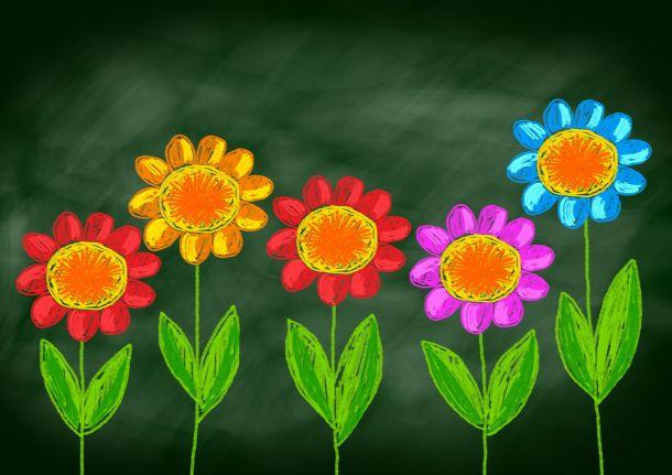 Wenn Sie im Kinderzimmmer Tafelfarbe verwenden, kann Ihr Kind jeden Tag ein anderes Bild an die Wand zaubern. (Fotoquelle:  anthonycz / clipdealer.de)