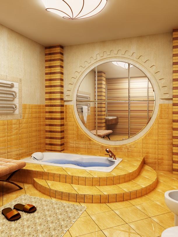 Aktueller Trend: Das marokkanische Badezimmer. (Bildquelle: Auris, clipdealer.de)