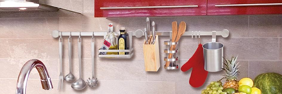 Küchenleistenzubehör für eine ordentliche Küche