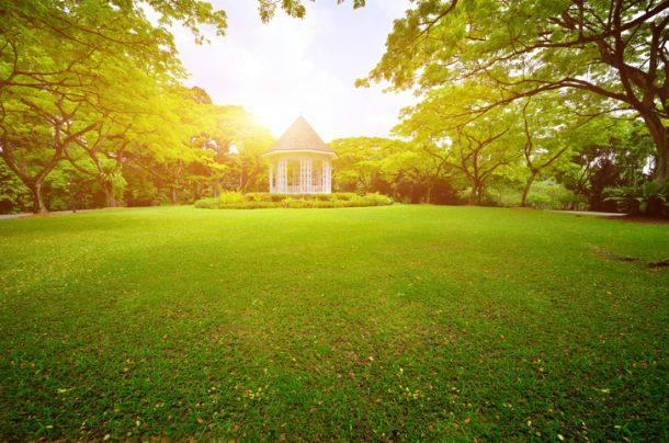 Genießen Sie die schönen und warmen Tage im Garten.  (Fotoquelle: istock.com/zorazhuang)