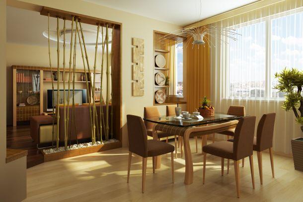 Raumteiler können ein künstlerischer oder optischer Blickfang sein. (Bildquelle: Auris / clipdealer.de)
