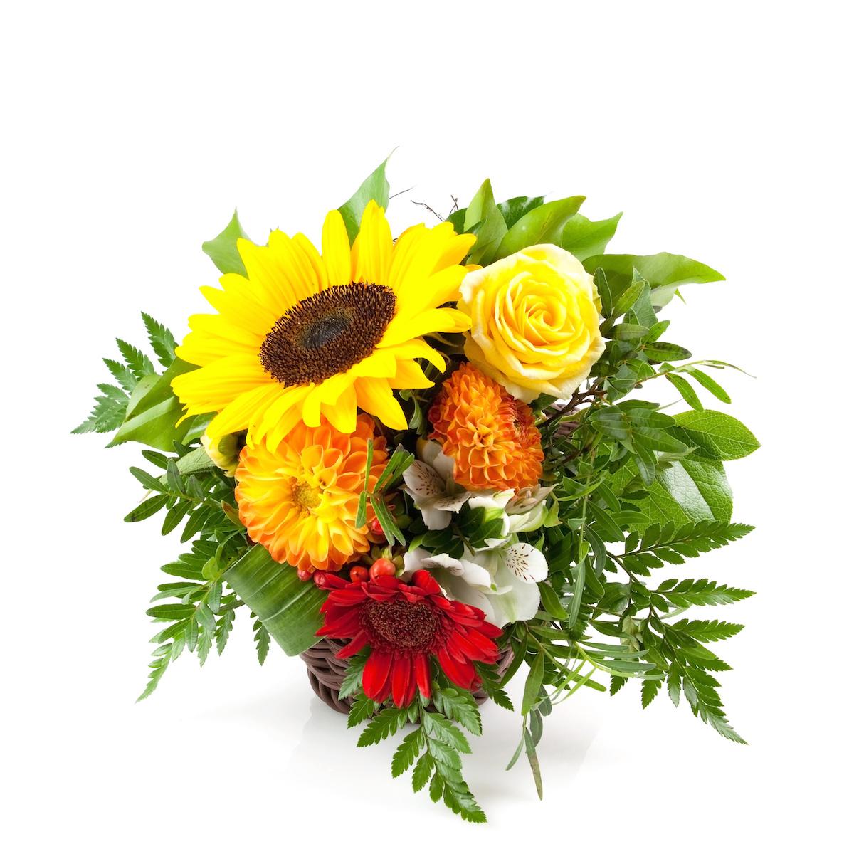 Blumen als Kunst