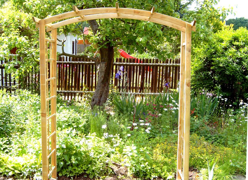 rosenbogen selber bauen und gestalten mein bau. Black Bedroom Furniture Sets. Home Design Ideas