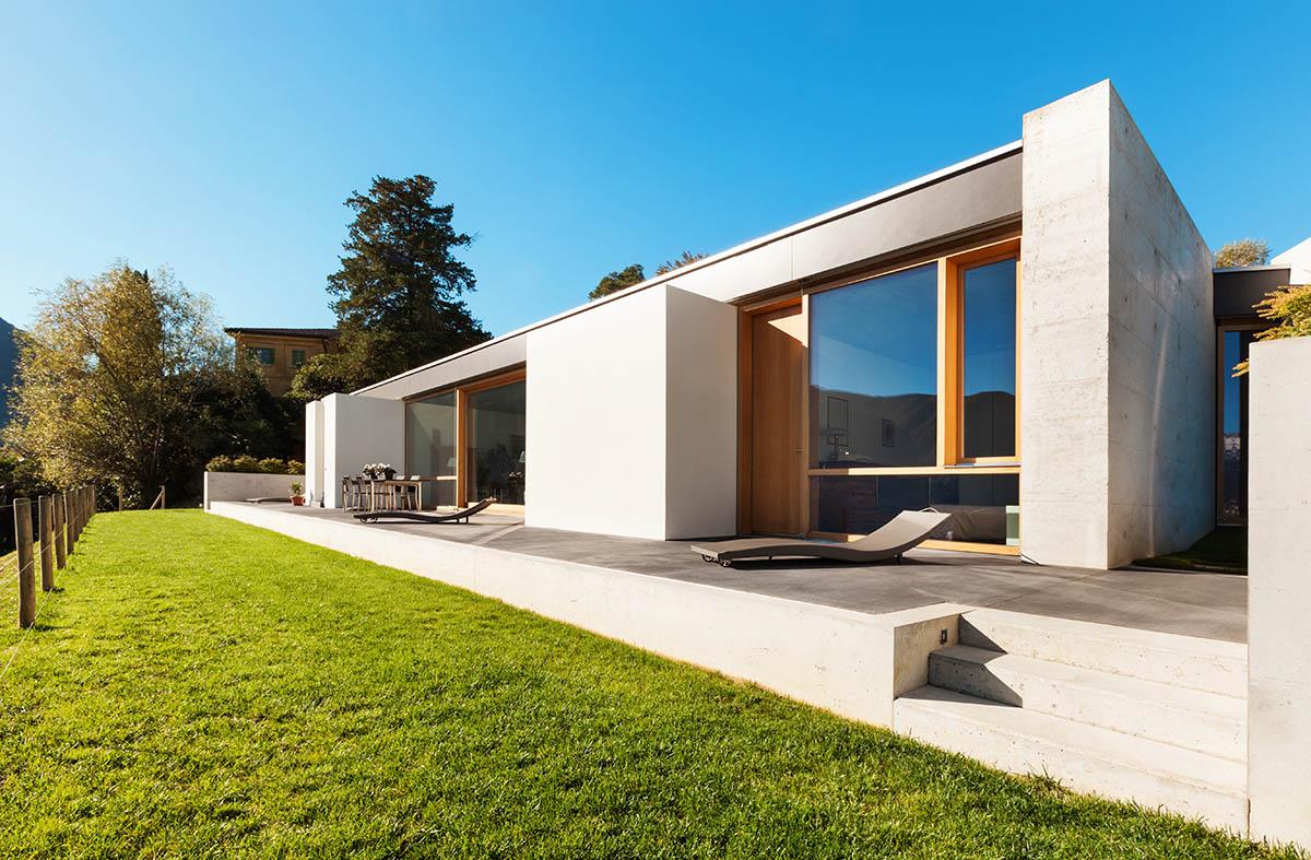 Mit der Entscheidung für ein modernes Haus ist bereits ein wichtiger Meilenstein erreicht.