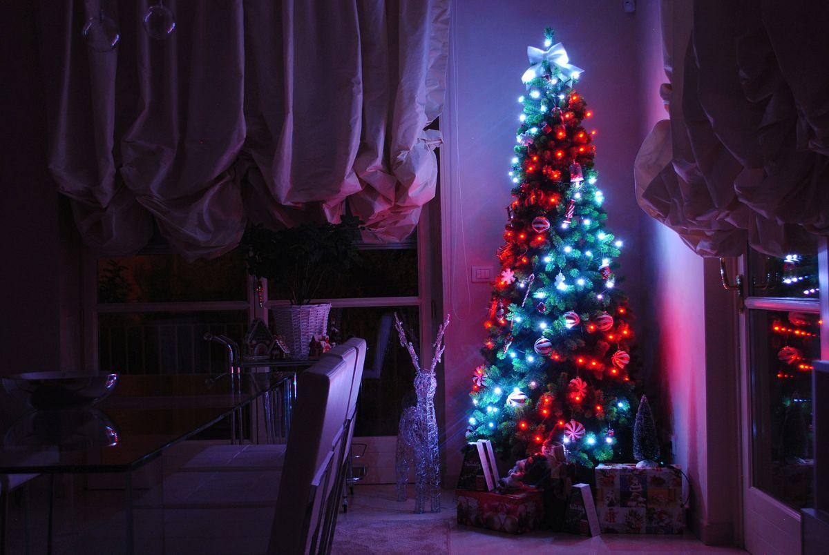 Die LED-Lichterkette Twinkly ist über WiFi steuerbar
