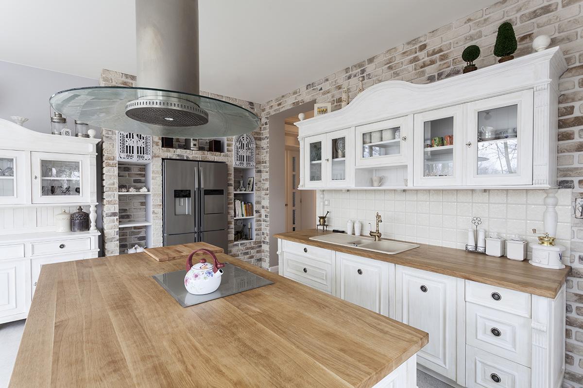 Die meisten Küchenarbeitsplatten sind auf die Küchenarbeit abgestimmt.