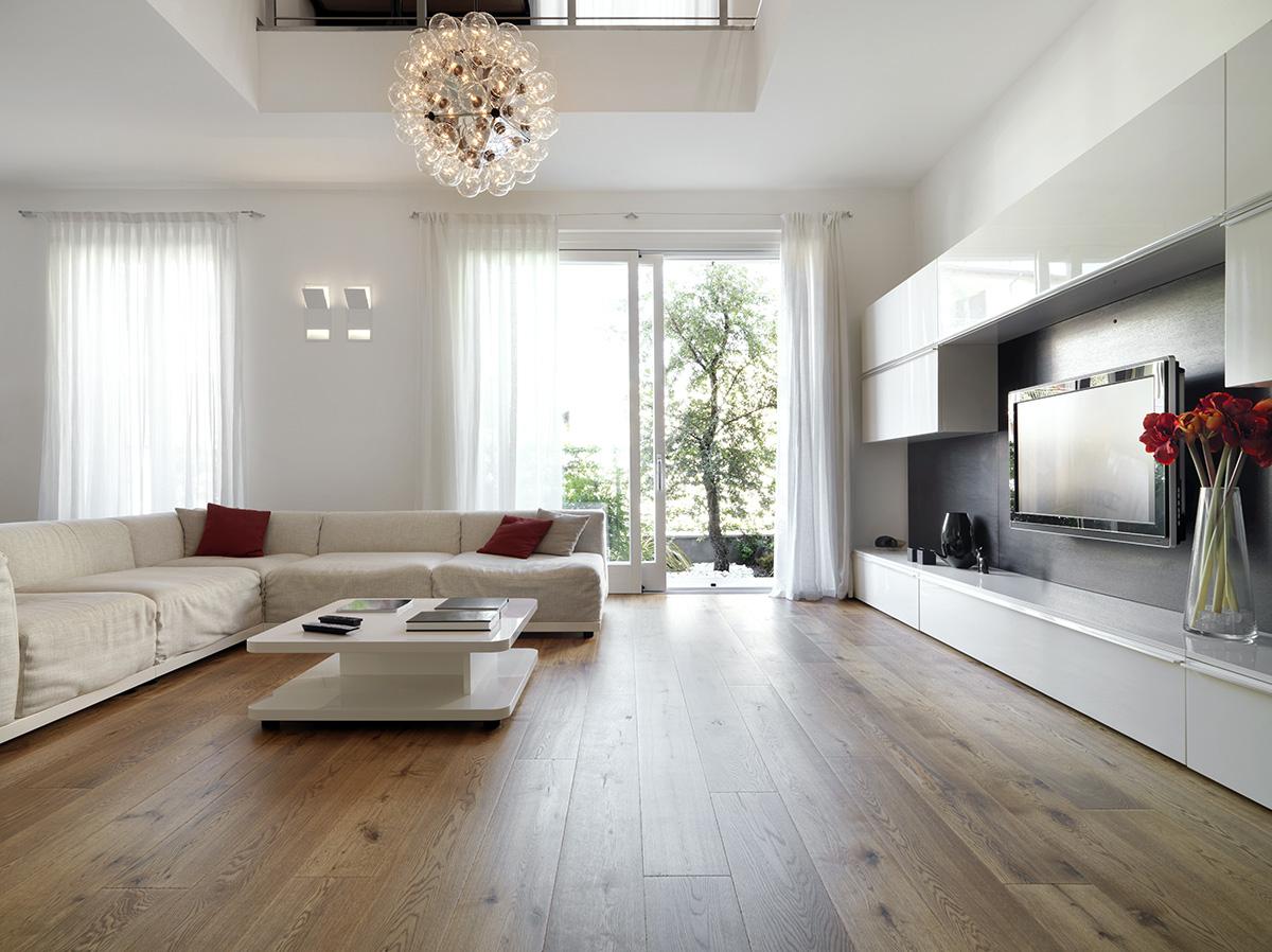 Moderne Häuser setzen auch auf maximales Tageslicht.
